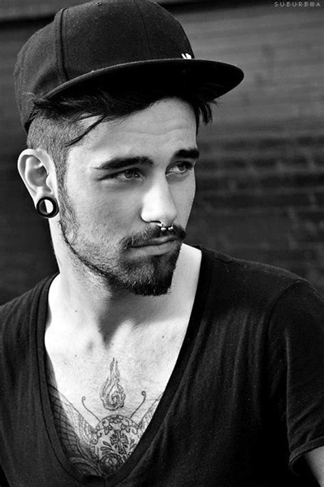 male fashion models with pierced ears 90 drop dead gorgeous men piercings inspirations