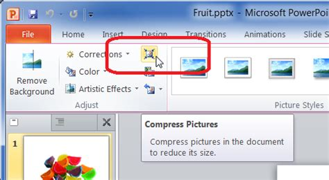 Compress Pdf To Ppt | powerpoint 2010 compress all pictures to reduce file