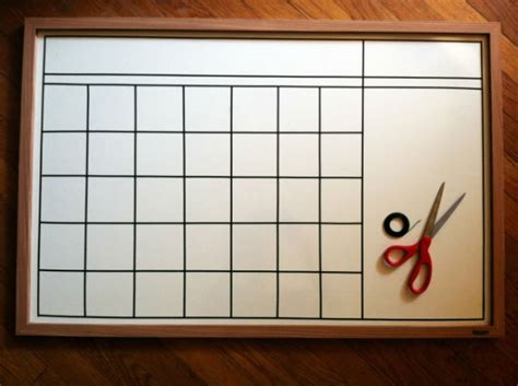 how to make a calendar on your whiteboard 5 ways to make your desk more organized shoplet