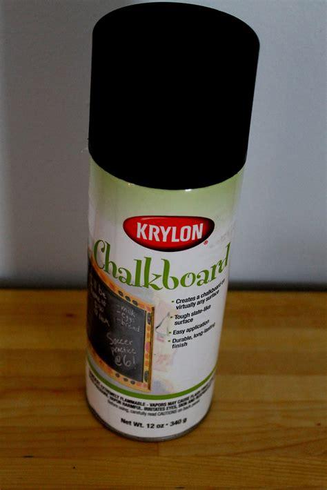 spraying chalk paint chalkboard spray paint the 2 seasons