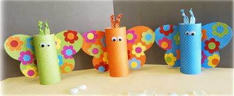 Butterflies Paper Craft - 21 recycling paper crafts and fabric butterflies for