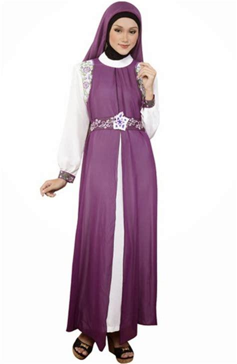 Baju Gamis Wanita Busana Muslim Terbaru Gareu Gkl8905 15 pakaian muslim wanita terbaik sepanjang masa contohbusanamuslim