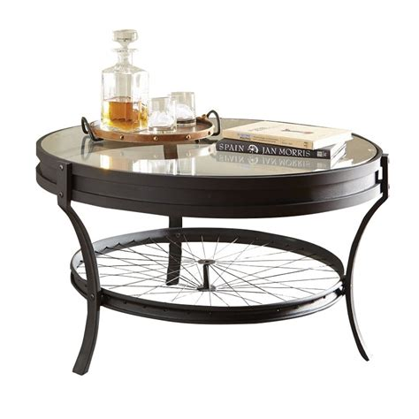 Coaster Glass Coffee Table Coaster Glass Top Coffee Table In Black Ebay