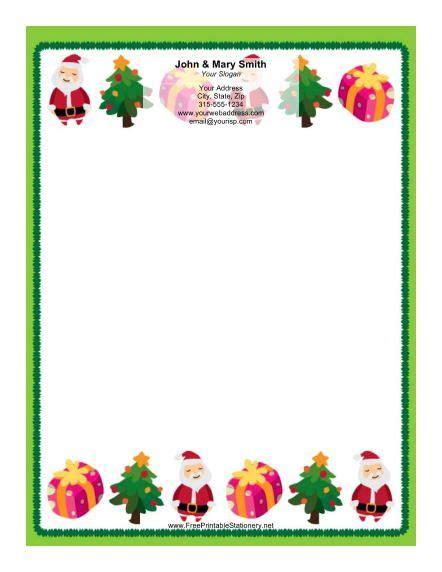 printable christmas paper frames printable christmas borders download this stationery