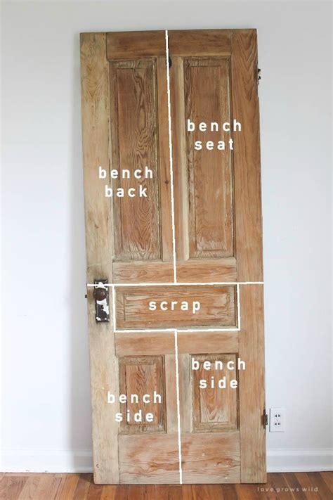 door  bench diy home decor ideas  wood
