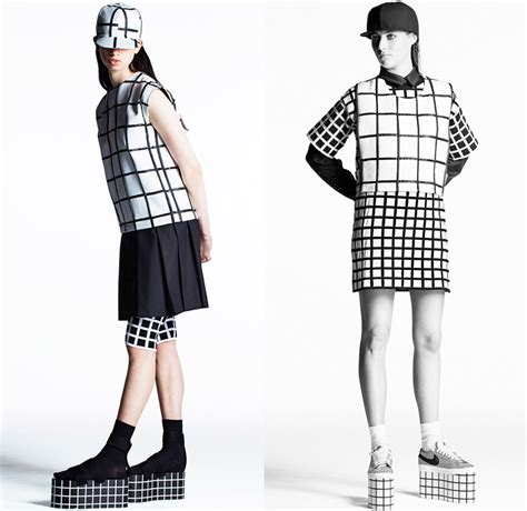 Grid Pattern Fashion | 1000 images about blog the grid pattern trend in