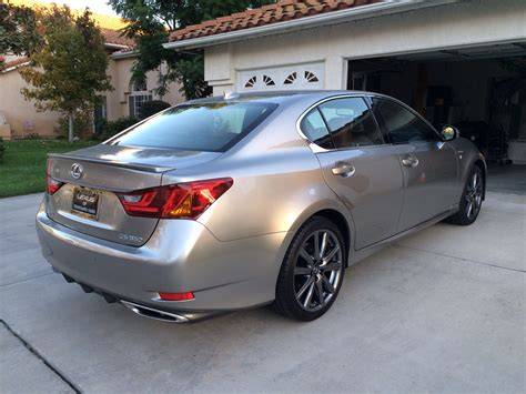 lexus atomic just got my 2015 gs350 f sport atomic silver page 6
