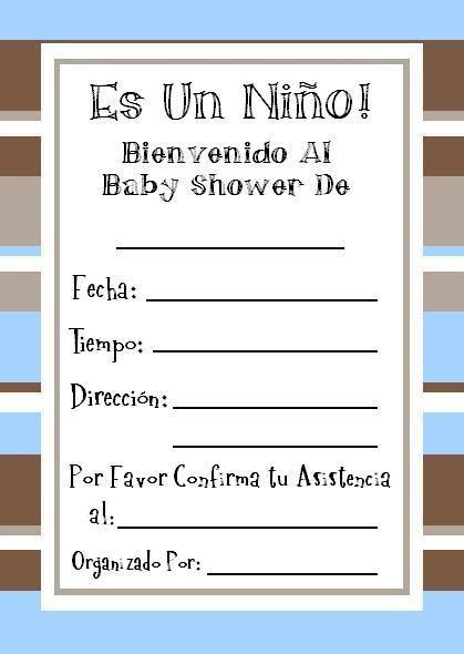 tarjetas de invitacion para imprimir baby shower gratis invitaciones de baby shower para imprimir