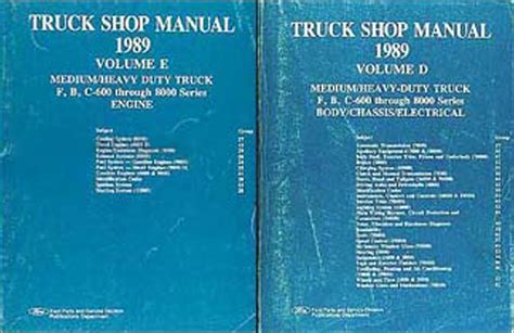 online auto repair manual 1989 ford f series interior lighting 1989 ford truck cab foldout wiring diagram f600 f700 f800 ft800 ft900