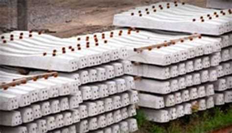 Concrete Sleeper Manufacturers by Trackwork Moll Pre Stressed Concrete Railway Sleepers