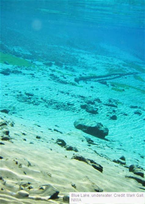 clearest water in the us worlds clearest freshwater discovered yet again in