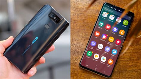 Asus Zenfone 6 Vs Samsung Galaxy S10 by Asus Zenfone 6 Vs Samsung Galaxy S10 Do You Want A Flipping Or A Punch Display