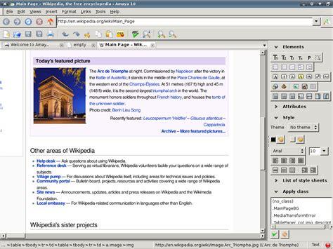 html editor wikipedia