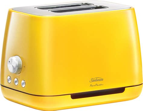 Yellow Toaster Oven Sunbeam Ta8820y Marc Newson Toaster Vibrant Yellow