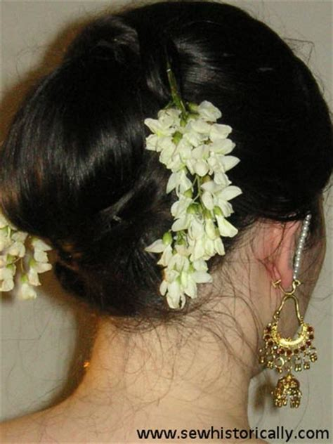 indian hairstyles with flowers in hair indian hairstyle with flowers sew historically