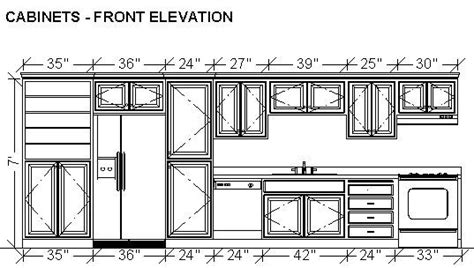 kitchen cabinet design drawing kitchen elevation line drawing cabinets drawers appliances kitchen wall elevation google search house