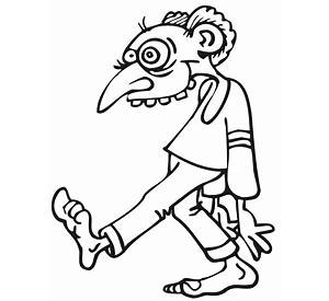 zombie coloring pages free coloring pages - Zombie Coloring Pages For Adults