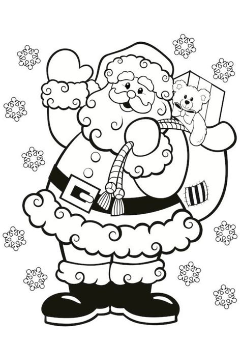 Santa Claus Colouring In For Kids This Christmas International Tree Coloring Page