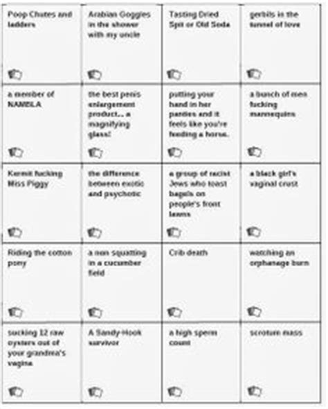 printable games like cards against humanity free cards against humanity pdf printable card came 25