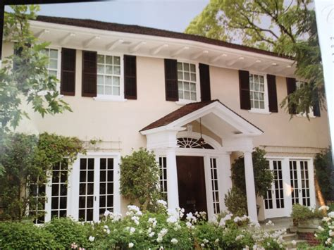 attractive houses with shutters that will be the center of