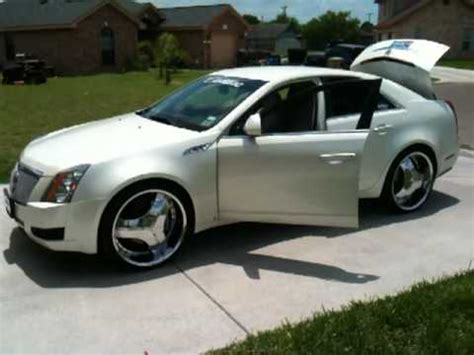 Cadillac On 22s by Cadillac Cts On 22s