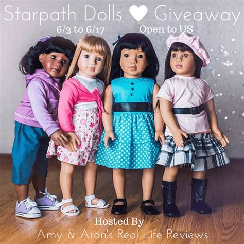 Doll Giveaway - before and after baby starpath doll giveaway