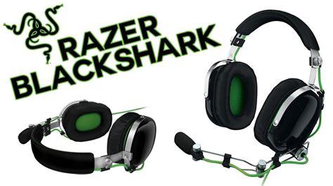 Headset Razer Black Shark razer blackshark headset unboxing review