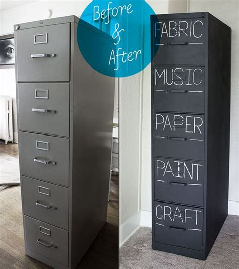Upcycled Filing Cabinet Creative Upcycled Craft Room Ideas The Scrap Shoppe