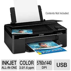 Printer Epson Stylus Nx130 All In One buy the epson stylus nx130 all in one inkjet printer at tigerdirect ca