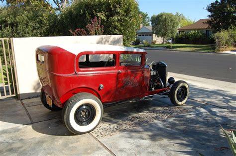 Vintage 1930 Model A Ford restored vintage 1930 ford model a sedan rod 30 w 32
