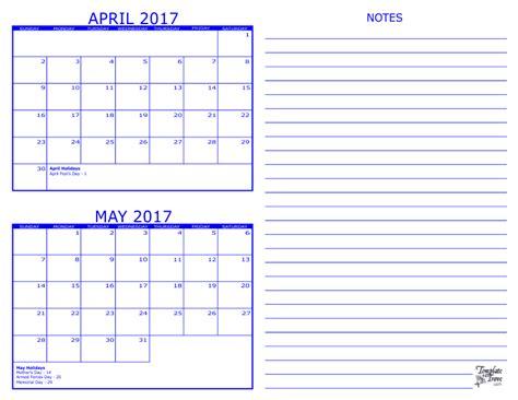 2 month calendar template free 2 month calendar 2017