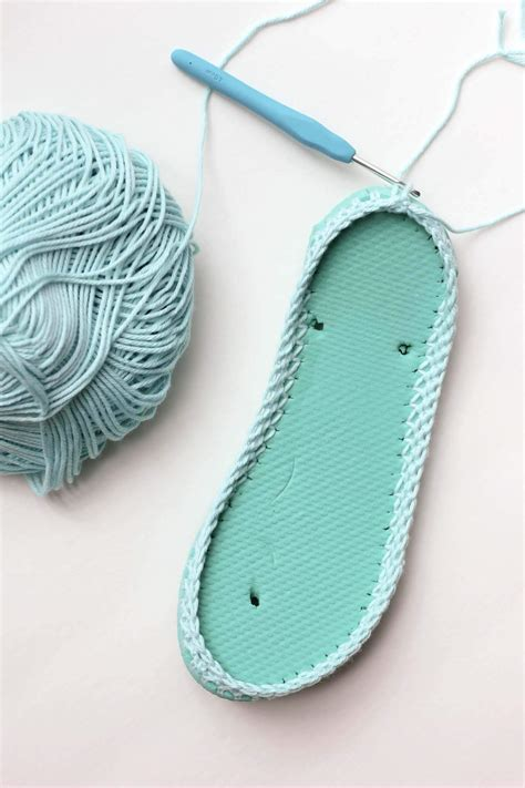 flip flop house shoes free crochet slippers pattern with flip flop soles