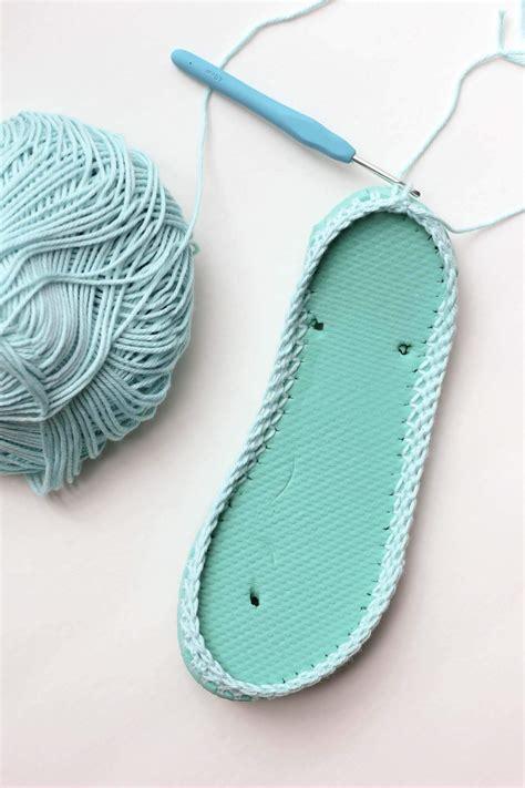 flip flop slippers free crochet slippers pattern with flip flop soles