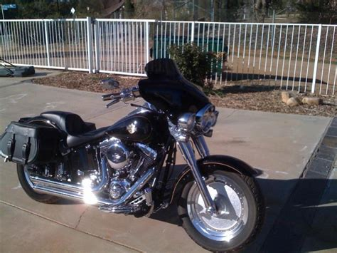Harley Davidson Hd 07 Boy Blk bullet fairing on fatboy lo page 5 harley davidson forums