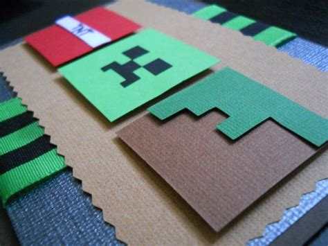 Minecraft Handmade - 25 best ideas about minecraft invitations on