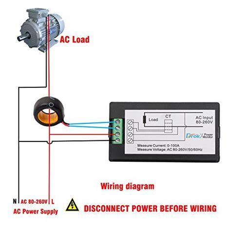 Ac Digital Multi Function Meterac 80 260v 100a drok digital multimeter ac 80 260v 100a voltage erage power import it all