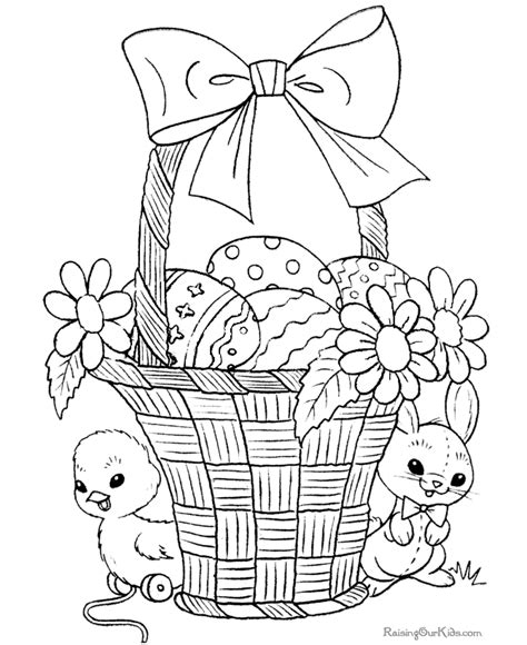 free coloring pages for easter coloring pages for easter 009