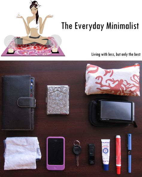 Everyday Minimalist | the everyday minimalist living with less but only the best