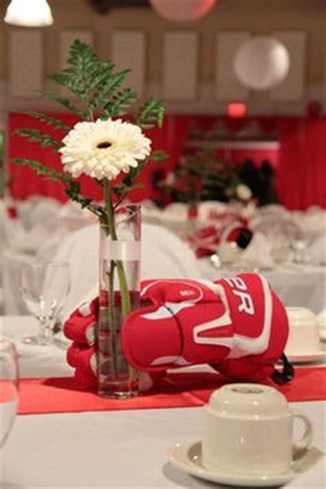 Hockey Decorations by Hockey Banquet On Hockey Bar Mitzvah