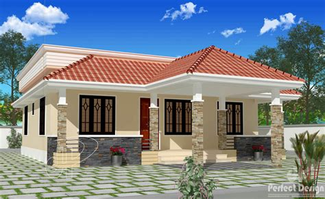 beautiful house floor plans beautiful single floor house with roof deck house