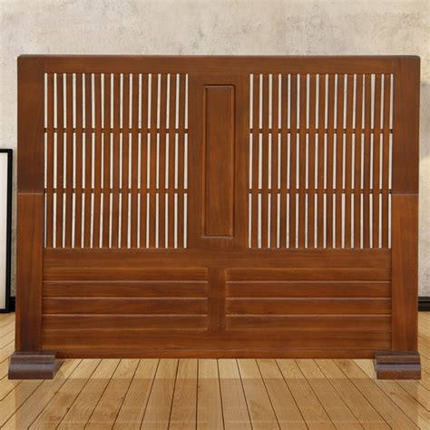 japanese movable wood partition wall screen room divider