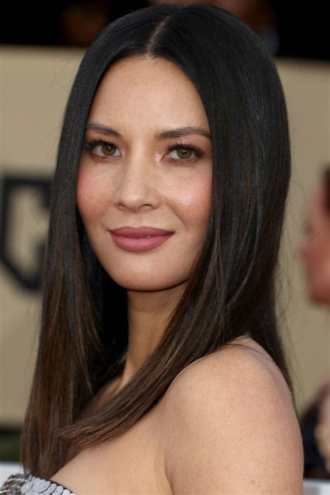 mun hair olivia munn long straight cut newest looks stylebistro