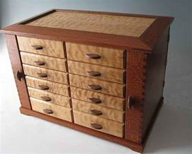 Chest Armoire Handmade Wooden Jewelry Boxes Are The Unique