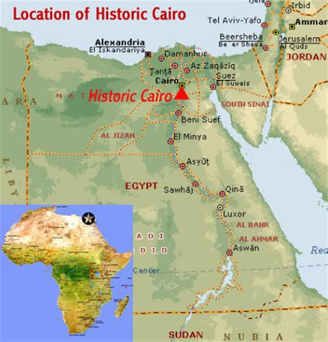 cairo on world map cairo map world