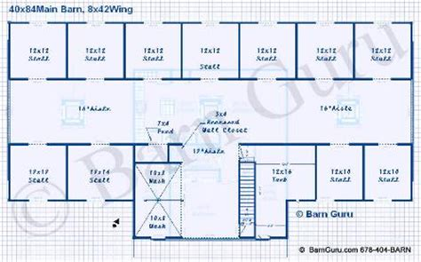barn layouts 9 10 or 11 stall horse barn plans some of the best horse