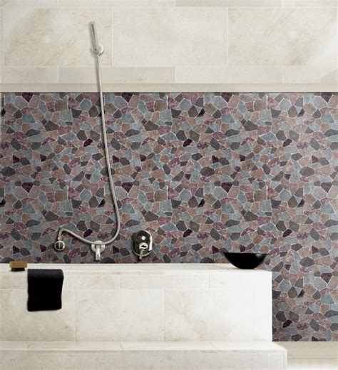 self adhesive wall paper brown gray stone tile self adhesive wallpapers