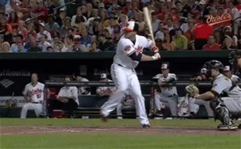 Chris Davis Breaks His Bat On A Home Run Bmorebirdsnest