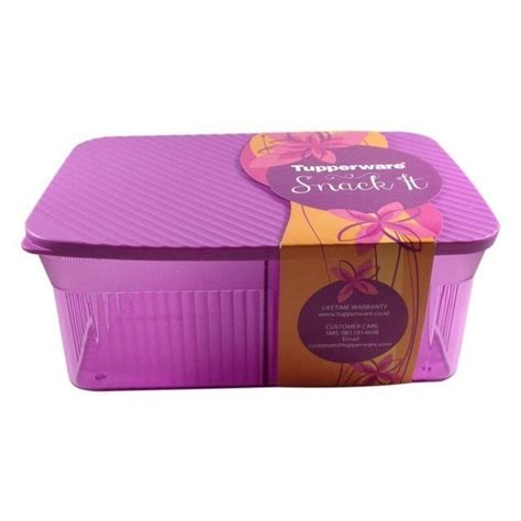 Tupperware Snack It snack it ungu tupperware tupperware