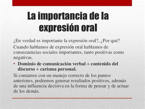 la expresin oral la expresi 243 n oral como estrategia de comunicaci 243 n