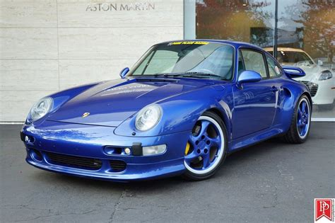 Porsche 993 For Sale by Cobalt Blue Porsche 993 Turbo S For Sale Car List